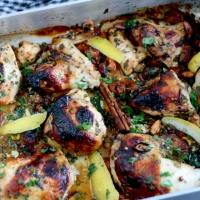 Nordafrikansk kylling - sødt, salt og smagfuldt